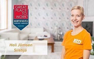 Heli Jämsen - Juuri sitä, mitä KP riveihinsä tarvitsee!