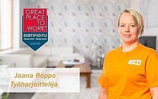 Jaana Roppo - Työharjoittelija, joka osaa kaiken muun, paitsi kahvin keiton
